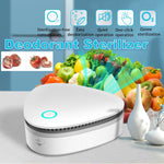 USB Portable Mini Ozone Air Purifier for Car Refrigerator Closets Pet