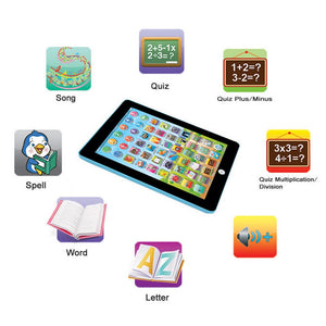 Educationl Kids plastic Tablet Learning Toy For Kids - MomProStore