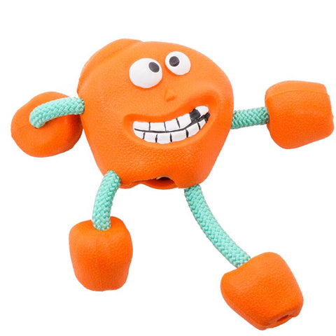 Smile Dog Rubber Ball Toys Sound Molar Teeth Resistant to Large and Medium-sized Pets