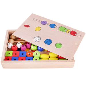 Montessori Wooden Educational Toys Stick Shape - MomProStore