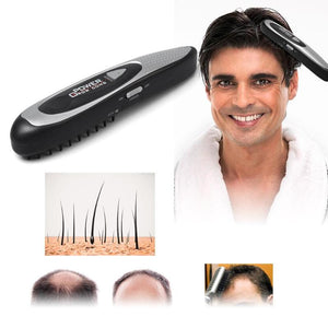 Massager & LED Electric Laser Hair Growth Comb Therapy - MomProStore