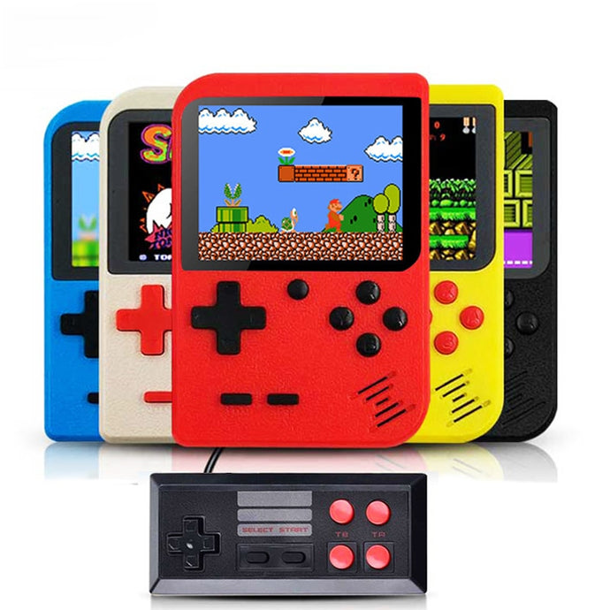 Retro Video Handheld Game Console Built in 400 Games+ GamePad - MomProStore