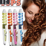 Electric Hair iron Curler Spiral