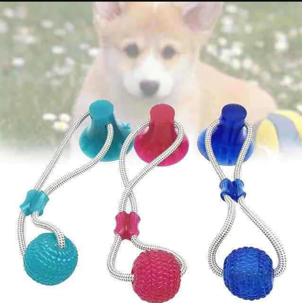 Flexible Pet Molar bite ball toy