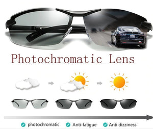 All Sessions Photochromatic Discoloration Sunglasses