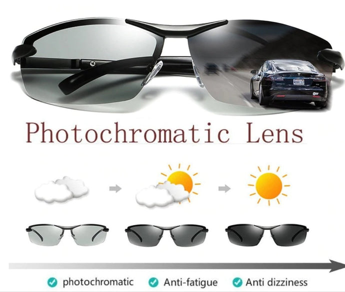 All Sessions Photochromatic Discoloration Sunglasses - MomProStore