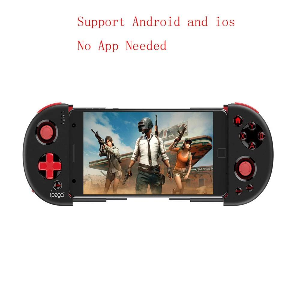 Extendable Phone Joystick Gamepad Controller Bluetooth