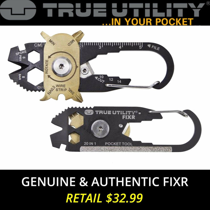 FIXR 20-in-1 Pocket Multi Tool Keychain