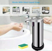 Load image into Gallery viewer, Automatic Touchless Soap Dispenser 280ml Stainless Steel