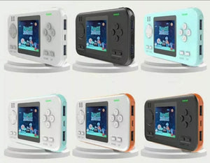 2 in 1 Handheld Built in Video Games & 8000mah Power Bank
