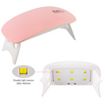 No more salon diy Portable UV LED Nails Dryer