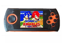 "Load image into Gallery viewer, 2.8"" LCD Sega Portable Player with 50+Built In Sega Genesis Games"