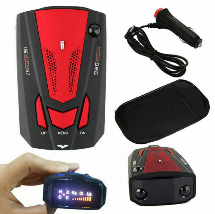 16 Band Car Radar Detector With Voice Alert
