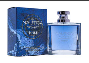 NAUTICA VOYAGE N - 83 for men Valentine gift 3.3 / 3.4 oz edt Cologne New in Box