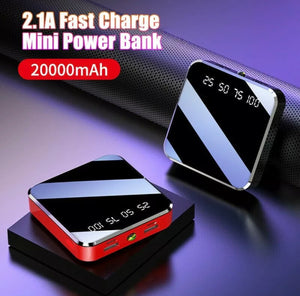 20000mAh Dual USB UltraThin Portable Power Bank External Battery Backup Charger
