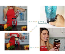 Load image into Gallery viewer, TORNADO BOTTLE ELECTRIC PROTEIN POWDER MIXER