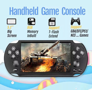 "5.1"" 8GB 128Bit Portable Handheld Game Console Video Game W/ 50+Games US"