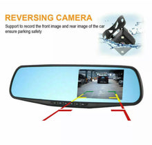 Load image into Gallery viewer, 4.3 inch HD 1080p Car DashCam Camera Front Rear Mirror DVR Recorder Dual Lens