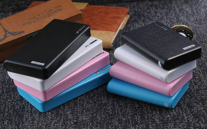 50000mAh High Capacity Power Bank 2 USB ports External Backup Battery Charger
