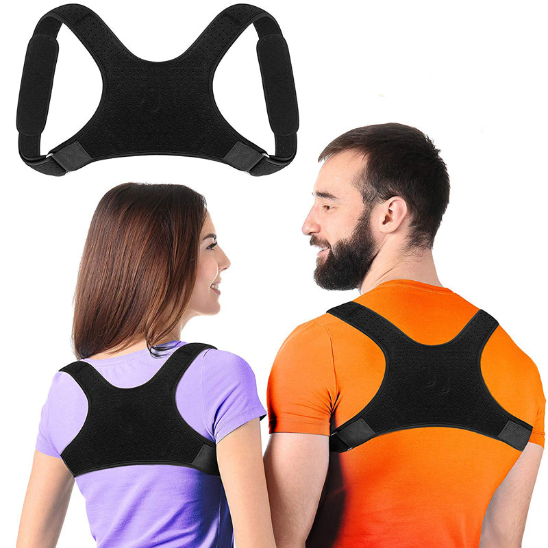 Posture Corrector For Men And Women, Upper Back Brace For Clavicle Support Straightener Pain Relief - MomProStore