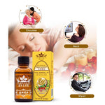 Thermal Pure Plant Essential Oil Ginger Body Massage - MomProStore