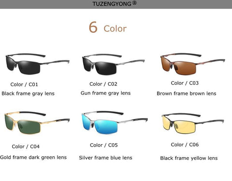 Best Men's Designer Polarized Sunglasses with Case - MomProStore
