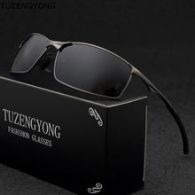 Load image into Gallery viewer, Best Men's Designer Polarized Sunglasses with Case - MomProStore