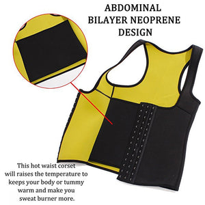Vest Tummy Neoprene Waist Trainer Corset Slimming Tummy Belly - MomProStore