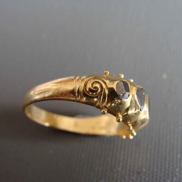 Gold Centipede Ring