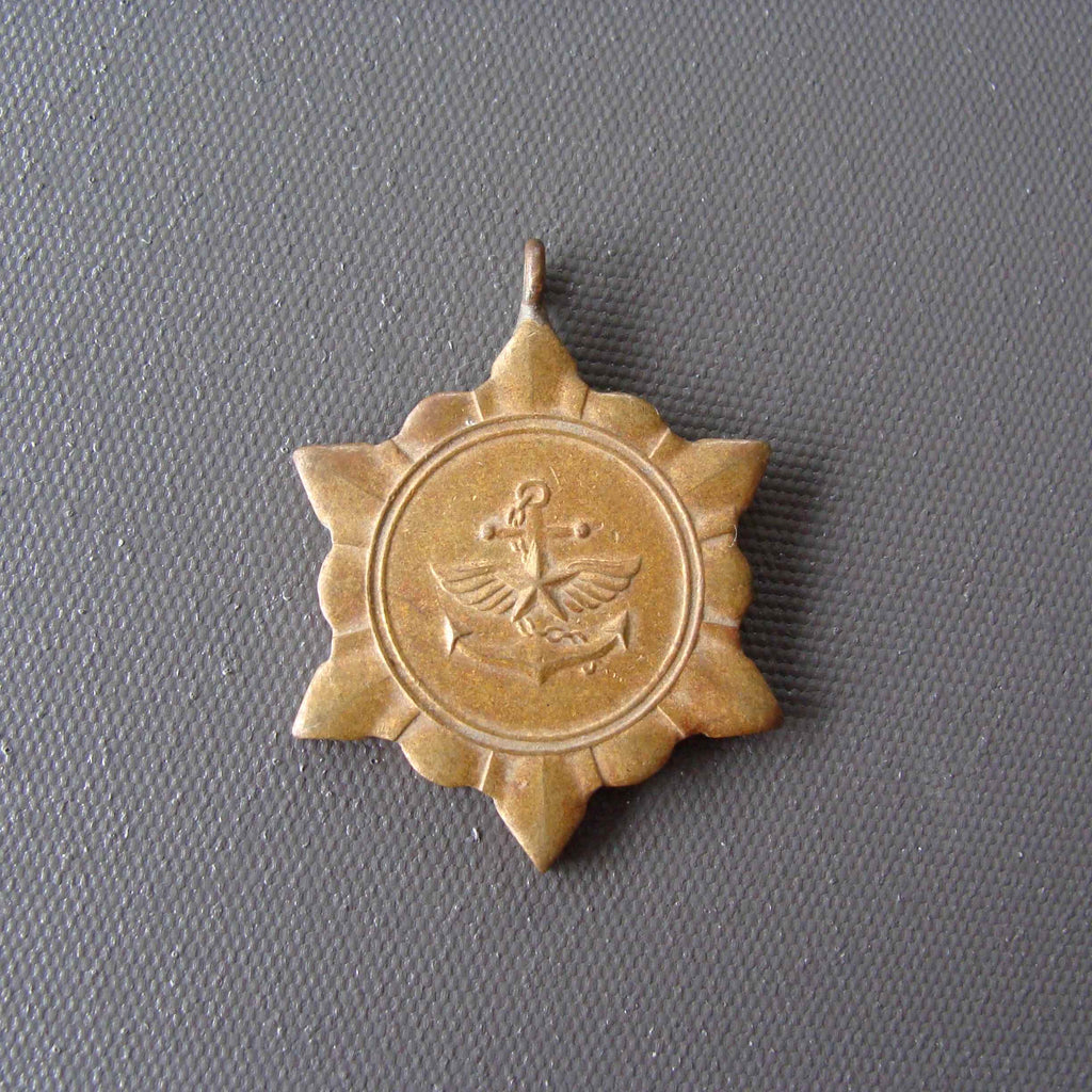 Antique Navy star badge