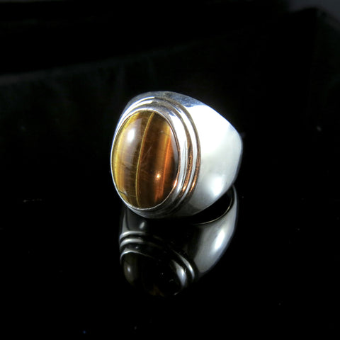 The Rare and Beautiful- Tiger Eye Ring