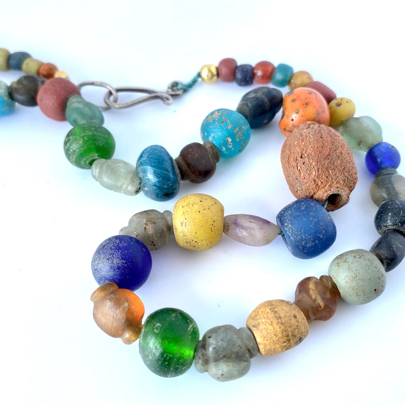 Ancient glass beads Sri Lanka