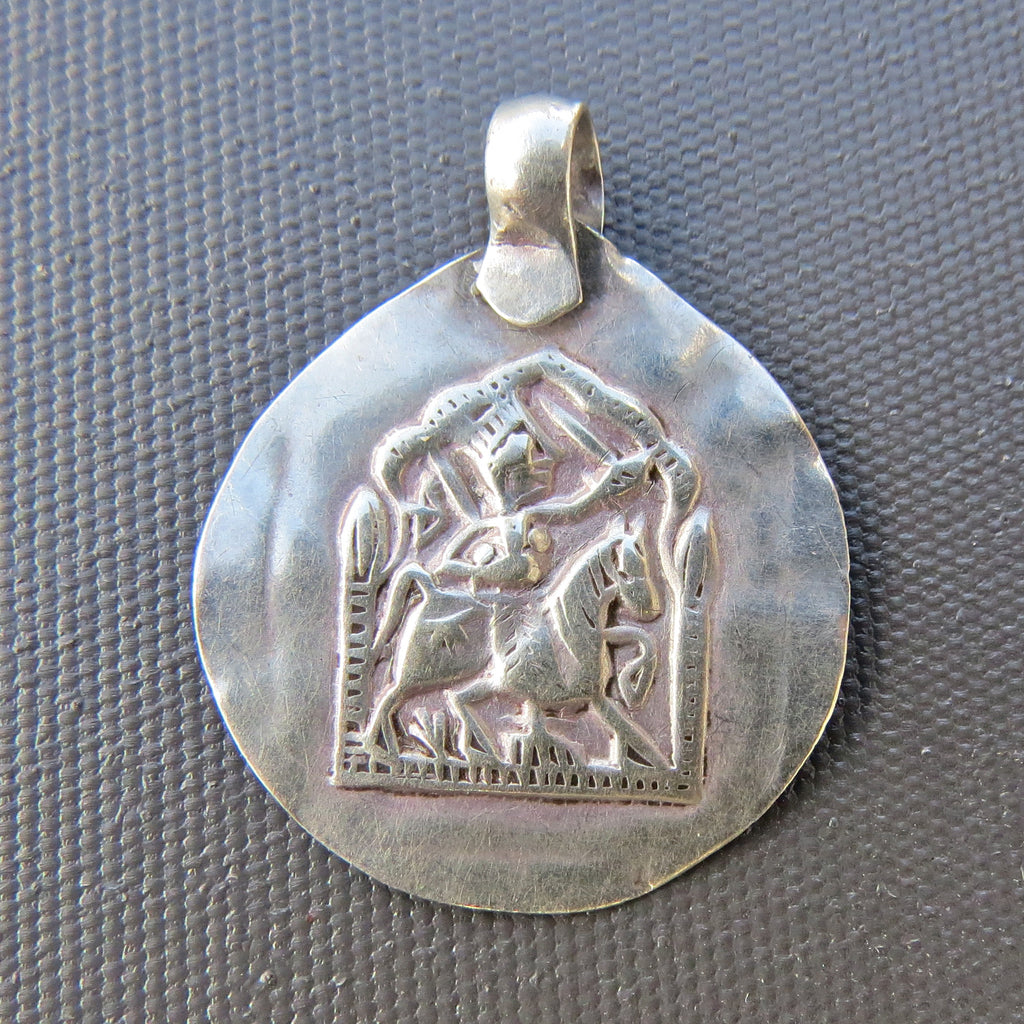 Antique Indian Amulet Pendant