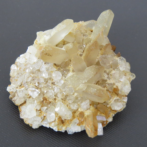 Quartz and Topaz Plate from Burma