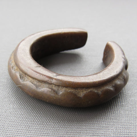 Small Antique Bronze Cuff