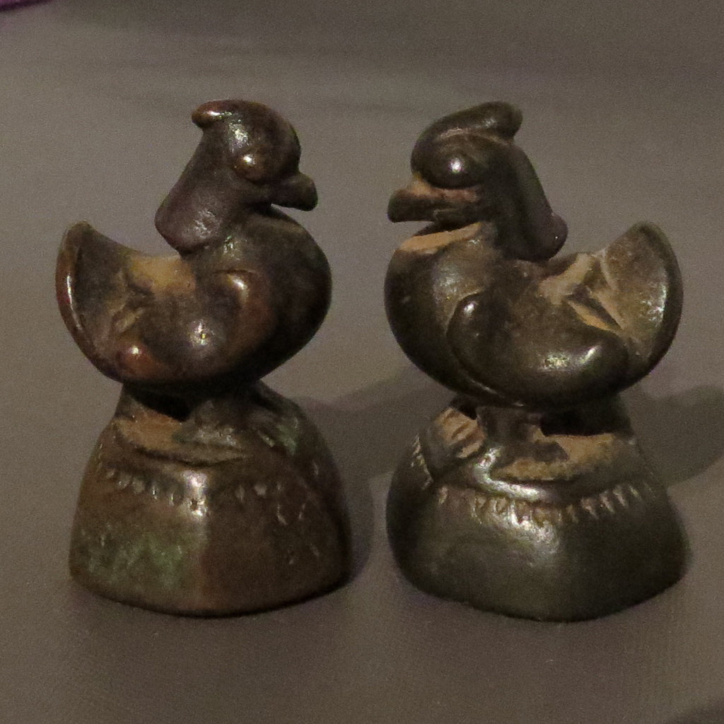 Antique royal burmese weights