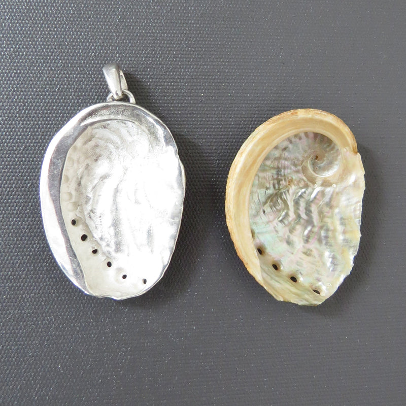 """Tasmanian Shell Collection""  Sterling silver Pendants made by The Rare and Beautiful"