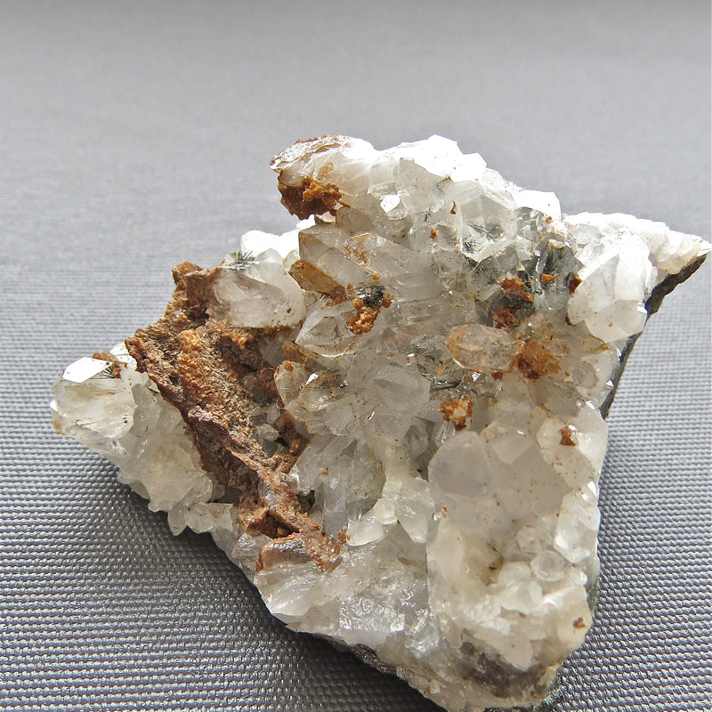 quartz, siderite and tourmaline from Renison Bell Mine on the West Coast of Tasmania Australia