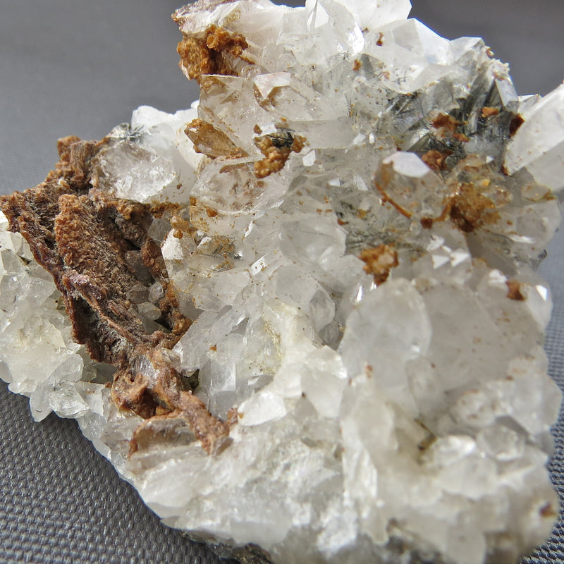 quartz, siderite and tourmaline from Renison Bell Mine on the West Coast of Tasmania Australia for sale