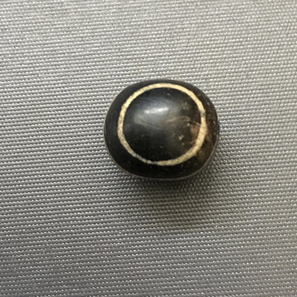 Four stripe ancient ghost eye bead