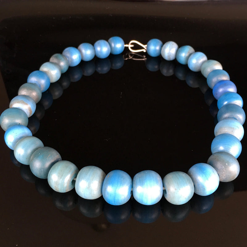 Blue Ancient Heirloom Beads