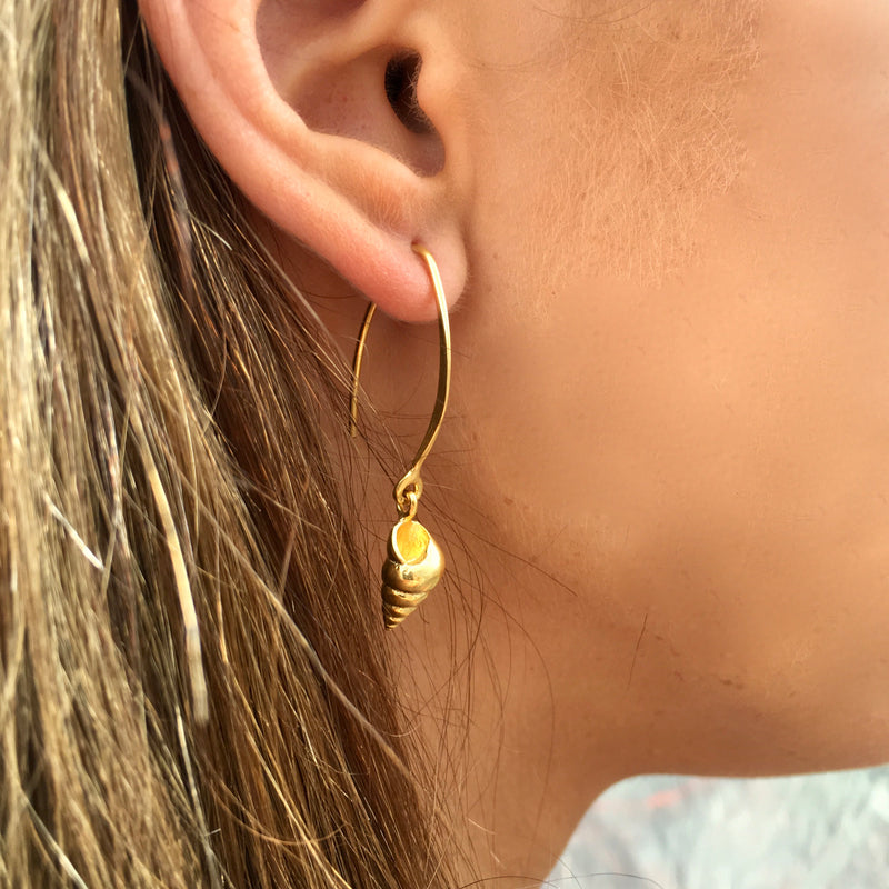 Mariner shell earrings