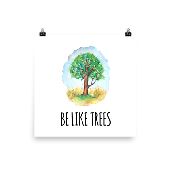 tomorrowspeople - Be Like Trees - Print - Tomorrow's People - Print