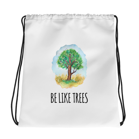 tomorrowspeople - Be Like Trees - Drawstring Bag - Tomorrow's People - Brand