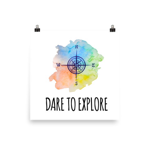 tomorrowspeople - Dare To Explore - Print - Tomorrow's People - Print