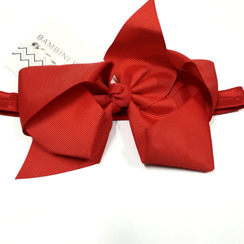 Bambini Boutique Large Bow Bands