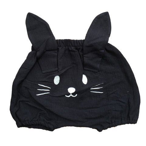 Black Bunny Bloomers