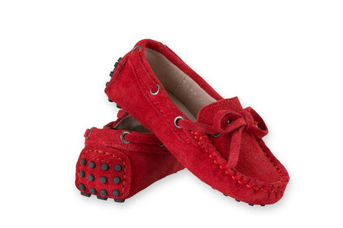 Oscar's for kids Capri Red Loafers