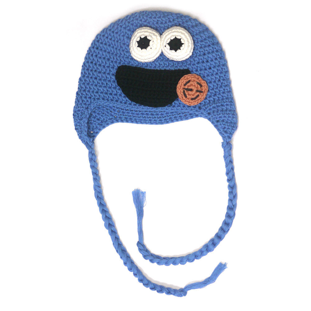 1173fb1e20d Cookie Monster Beanie - Baby Style Icon