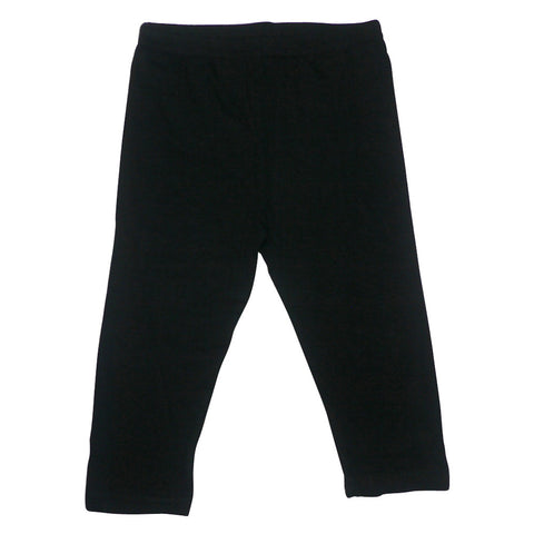 SuperSoft Cropped Black Leggings